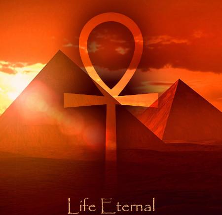 Ankh Symbol Pyramids Life