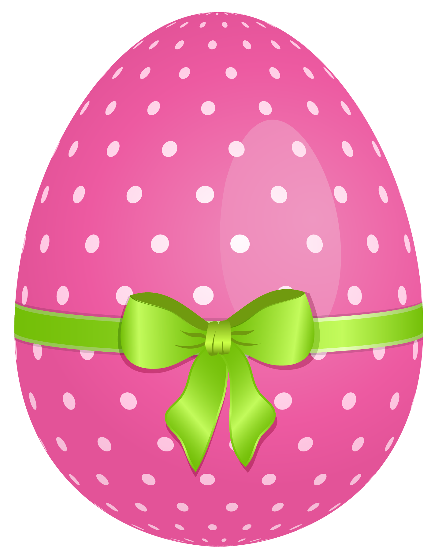 Pink Dotted Egg