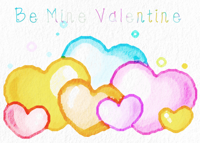 Colorful Cute Hearts